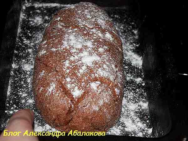 пшеничный хлеб с отрубями в духвоке