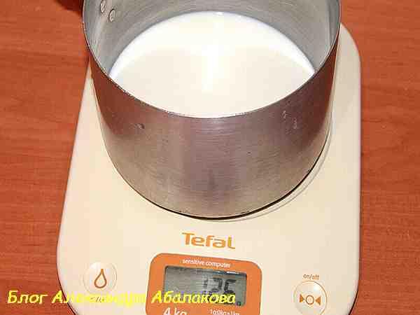 молоко для пшеничного хлеба с отрубями