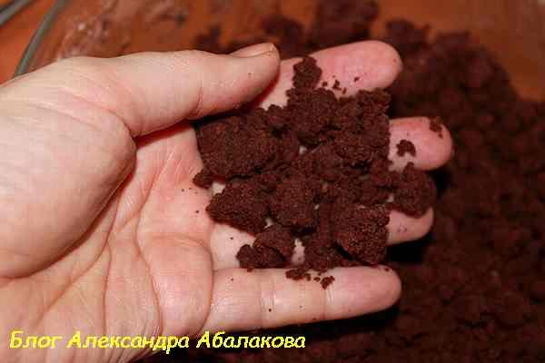 замесить песочное тесто для торта из тврога