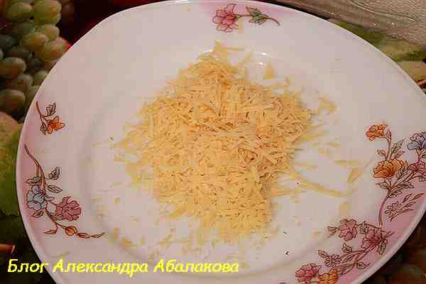 быстрый завтрак из картошки с сыром