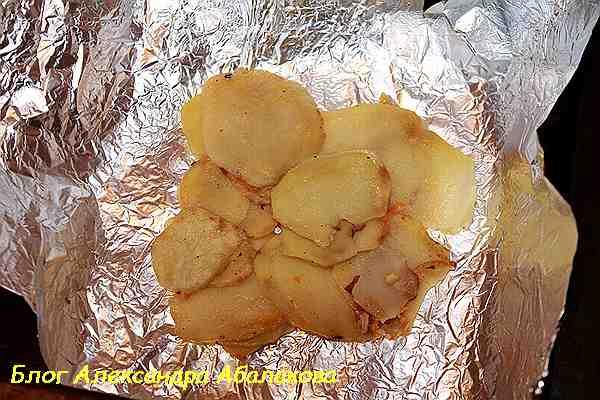 простой завтрак из картошки