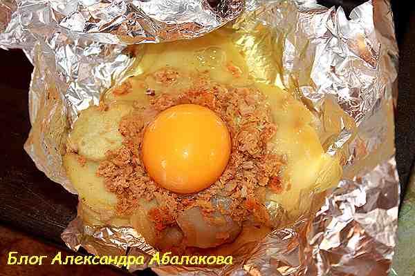 вкусный и простой завтрак из яиц