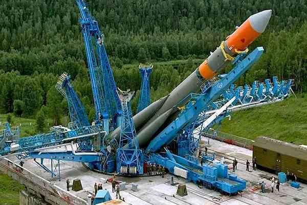 старт ракеты с космодрома восточный