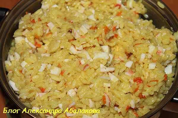 приготовленный рис с яйцом рецепт по-китайски
