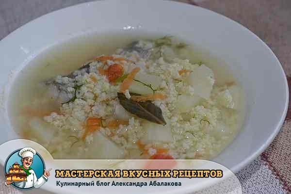 как приготовить рыбный суп из минтая
