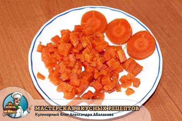 ваерная морковь для столичного салата