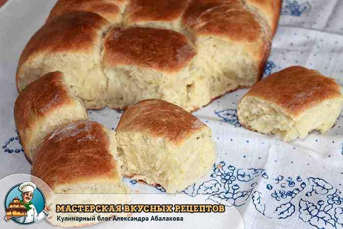 как приготовить дрожжевые булочки в духовке