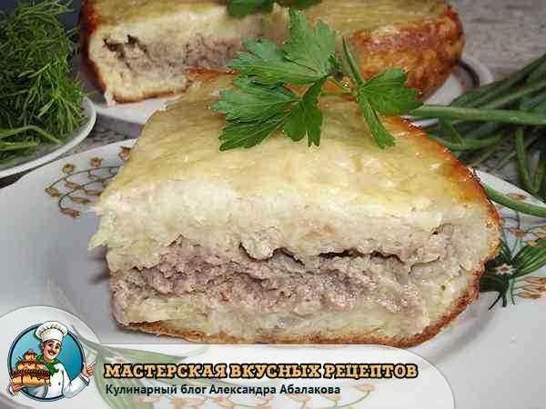 картофельная запеканка в мультиварке