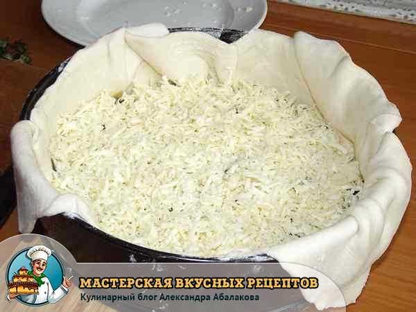 шпинат посыпанный сыром