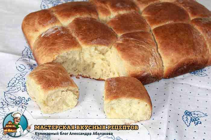 вкусно и быстро приготовленные булочки
