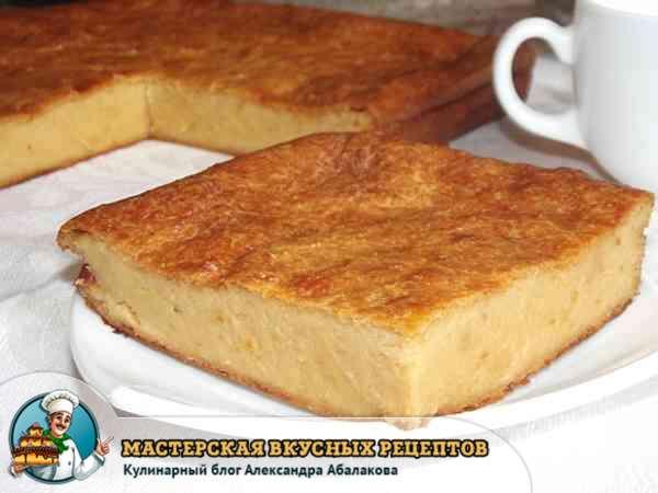 запеканка из сыра в духовке