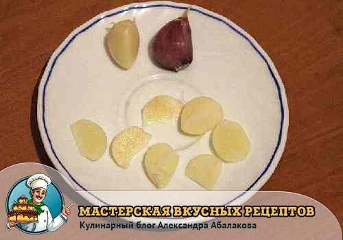 чеснок для соления огурцов