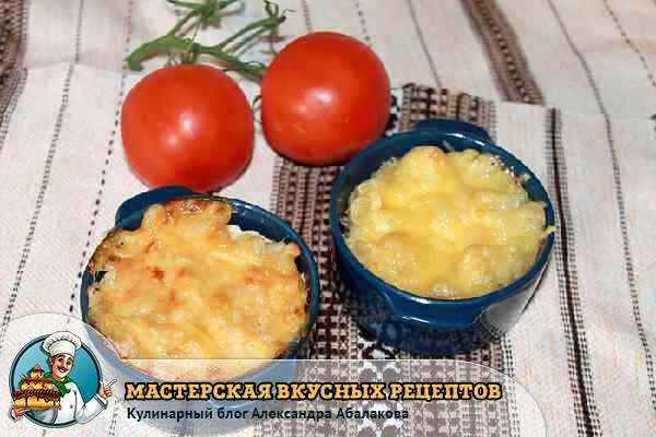 запеканка из макарон и сыра в духовке