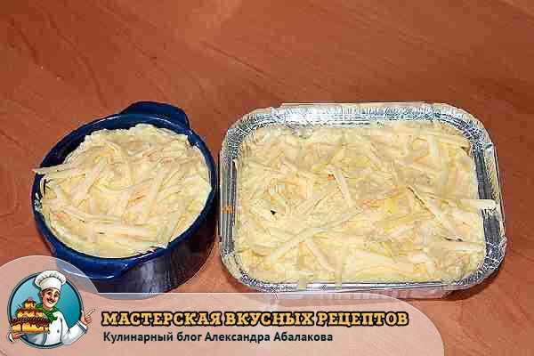 посыпать морковную запеканку сыром