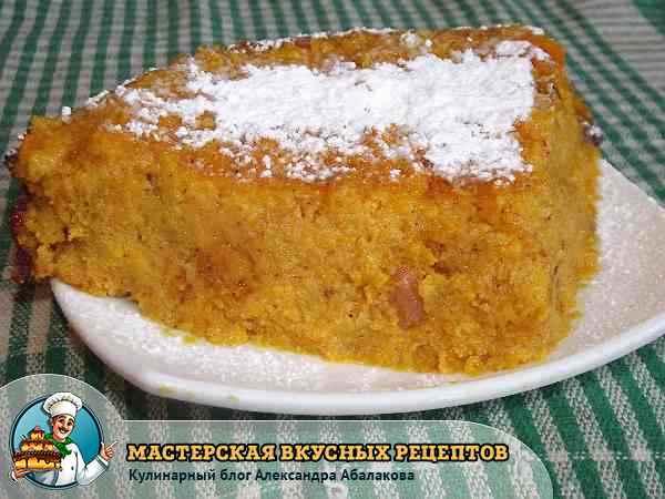 рецепт с фото морковной запеканки с манкой