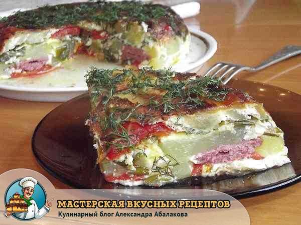 рецепт кабачковой запеканки в мультиварке