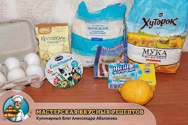 продукты для капкейков