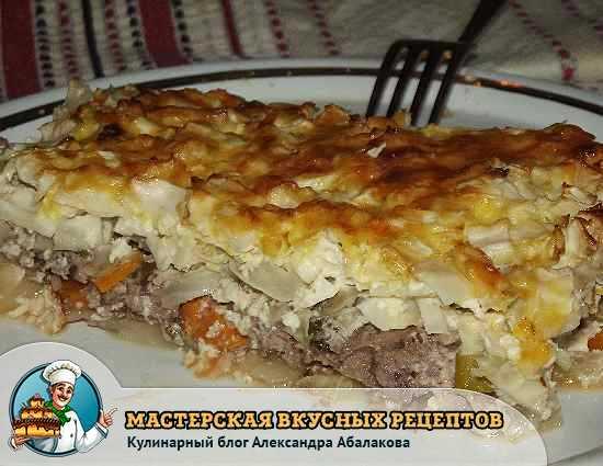 Картофельная запеканка с фаршем в духовке рецепт с пошагово с сыром и