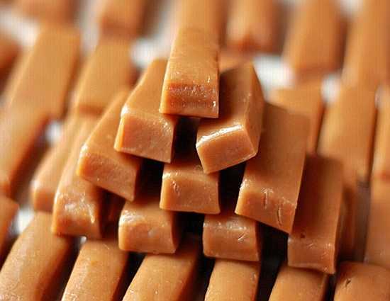 конфеты из карамели в домашних условиях