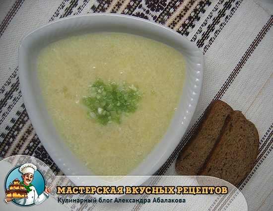как сварить суп с чесноком и картошкой