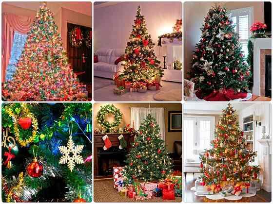 красиво украсить новогоднюю елку в 2017 год петуха