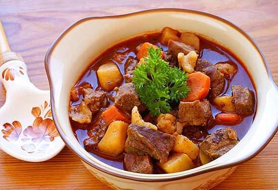 рецепт венгерского супа гуляш