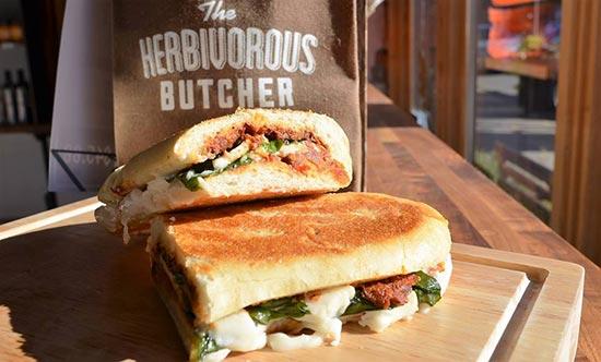 сэндвич из постного мяса