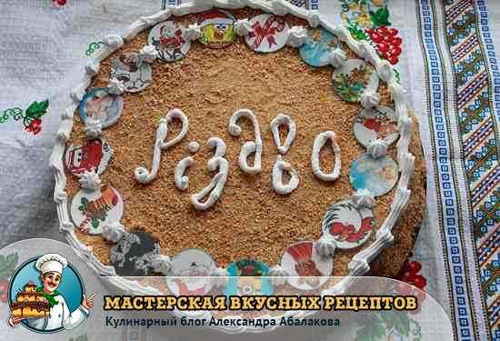 классический рецепт торта рыжик