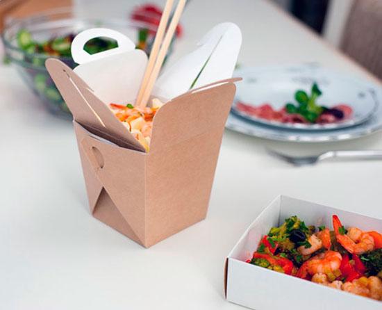 японская еда в упаковке to-go