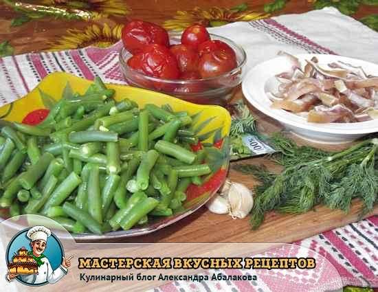 Рецепт лёгких салатов с мясом