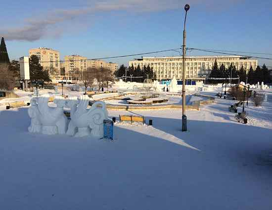 зимний городок 2017