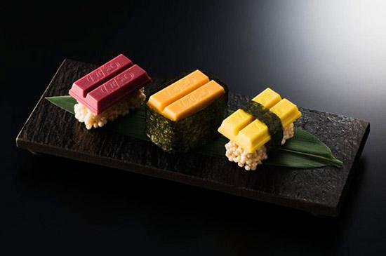 суши с кит-катом