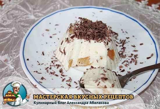Бланманже рецепт классический с пошагово