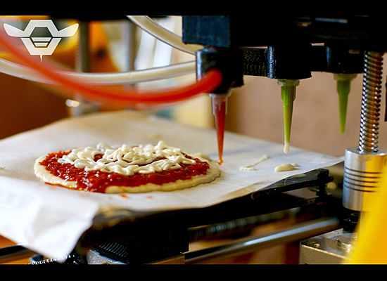 пиццу делает принтер