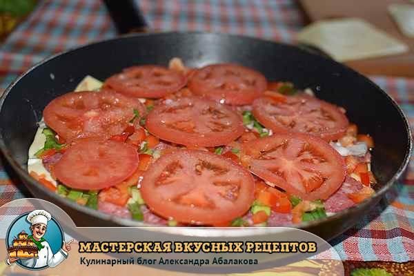 помидоры на перце