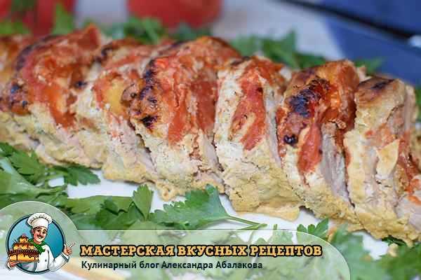 рецепт мяса гармошка