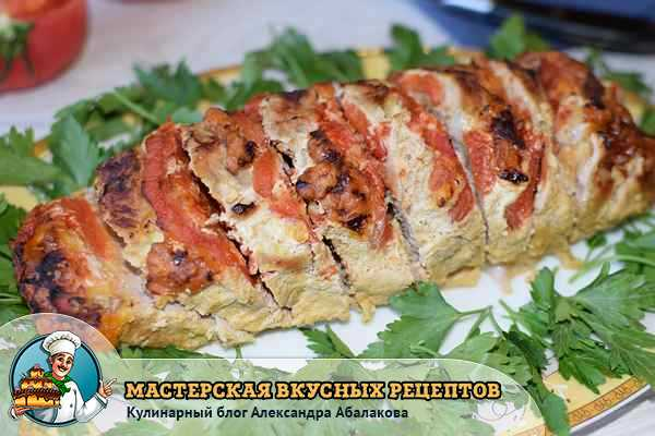 Мясо гармошка в духовке рецепт с фото