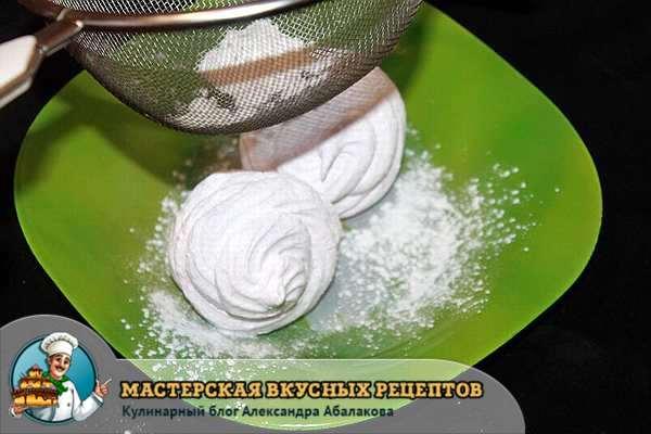 Рецепт приготовления зефира в домашних условиях с пошагово