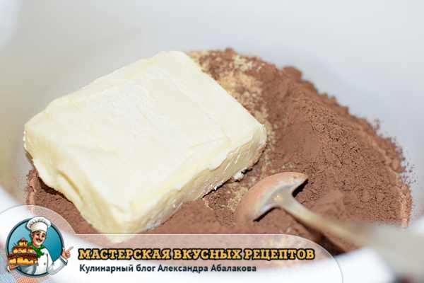 сливочное масло в печенье