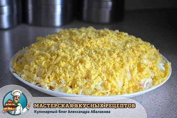 яичный желток завершающий слой