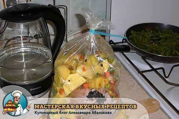 Рецепт запекания филе индейки в духовке в рукаве