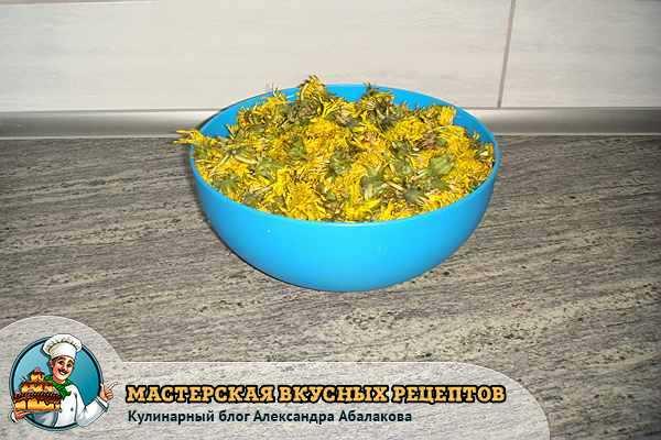 цветы одуванчиков в чашке