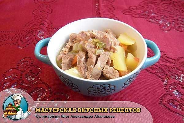 армянское блюдо хашлама