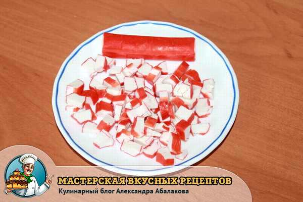 крабовые палочки для омлета