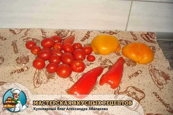 сушим овощи для заморозки
