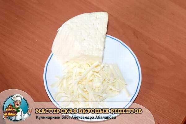 натертый адыгейский сыр