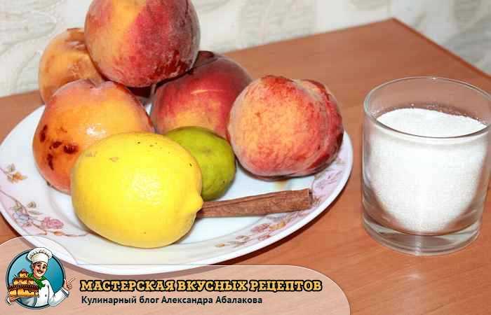 персики лайм лимон
