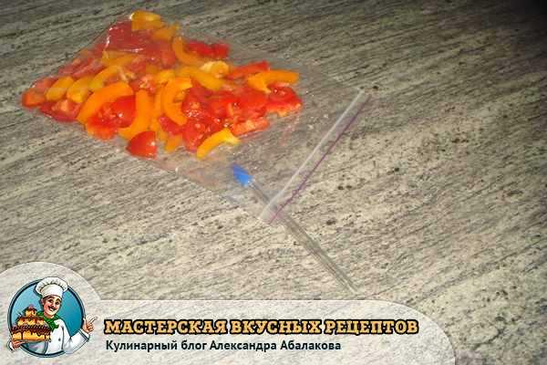 шариковая ручка в пакете