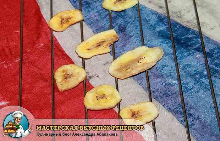 Как сделать банановый чипсы 259
