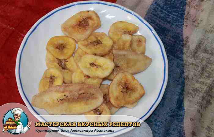 Как сделать банановый чипсы 21